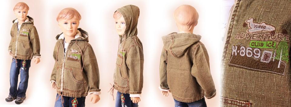 Куртка для мальчика своими руками фото